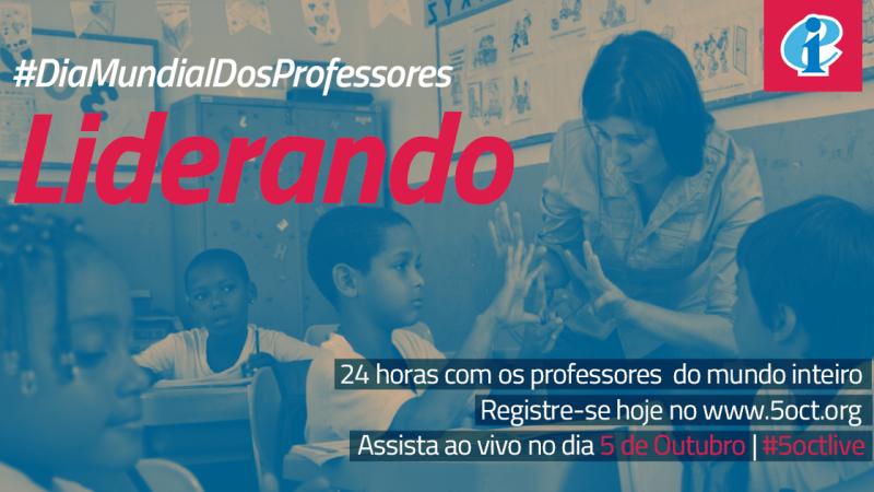 Dia Mundial dos Professores terá 24 horas de celebração online