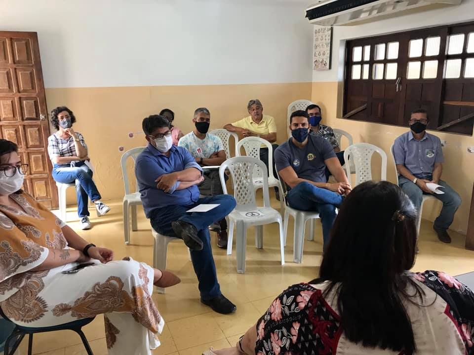 APLB realiza reunião com os coordenadores de campanha dos prefeituráveis e da prefeiturável para as eleições 2020.