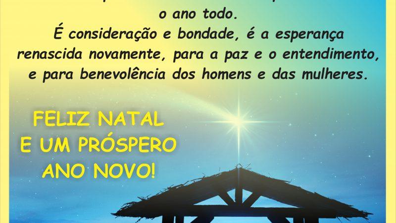 A APLB Sindicato de Jequié deseja a todos e todas um Feliz Natal e um Ano de realizações!