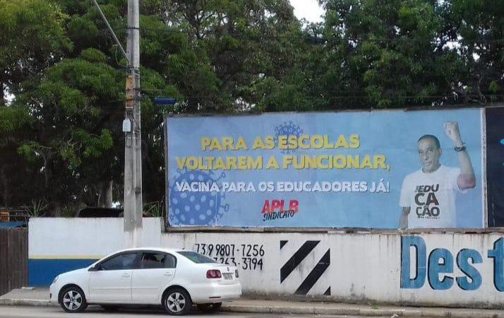 Vitória da APLB: Ministro da Saúde anuncia vacinação de professores para março