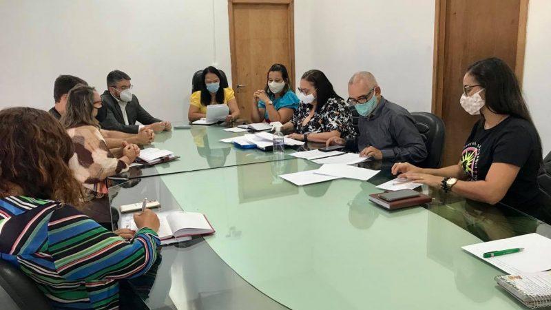 APLB se reúne mais uma vez com o Prefeito Zé Cocá para discutir atualização do Piso Salarial do Magistério